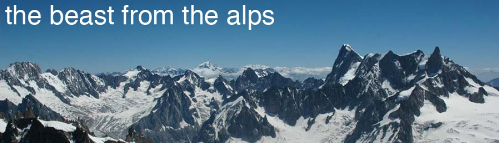 The Beast From The Alps